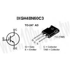IXGH48N60C3 IGBT-N 600V 48A 35NS TO-247